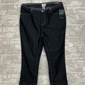NWT Calvin Klein Jeans Dark Wash Jeans Size 8